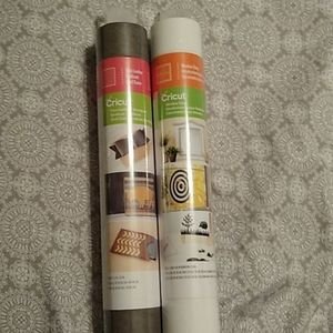 Cricut Faux Leather and Window Cling 1 Roll Each